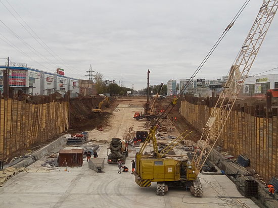 Тоннель напересечении Московского шоссе иКирова вСамаре готов наполовину