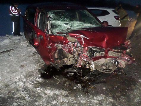 Пассажирка Кия погибла при столкновении с Рэно вКрасноярском районе