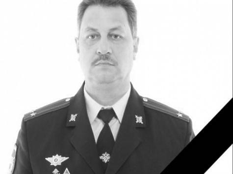 Умер глава отдела собственной безопасности милиции Тольятти