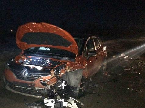 ВСтавропольском районе при столкновении 3-х авто пострадали три ребенка
