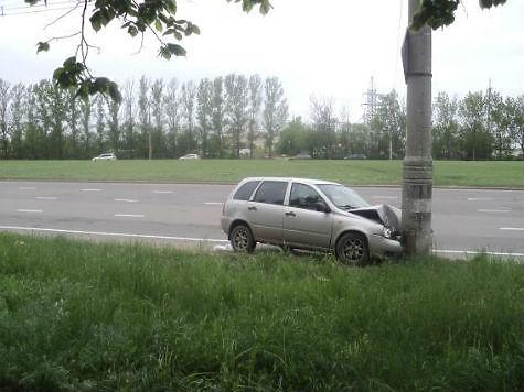Нетрезвый шофёр, который врезался встолб и удалился, предстанет перед судом