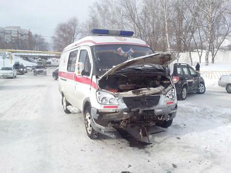 ВЖигулевске шофёр иномарки протаранил машину «скорой помощи»