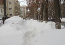Самарскую мэрию снова завалили упреками о сугробах