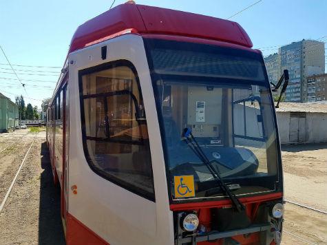 ВСамару привезли два новых трехсекционных трамвая