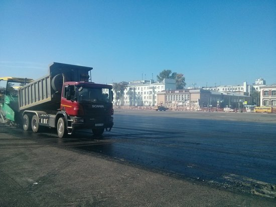 Ремонт площади Куйбышева в Самаре завершат до парада Памяти