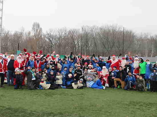 Новогоднее чудо на футбольном поле от ТРК «ГУБЕРНИЯ» и ПФК «Крылья Советов»