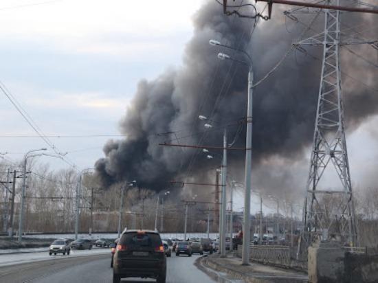 В Самаре на улице Канализационной горел частный дом