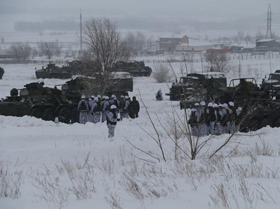 Миротворцев в Самарской области подняли по тревоге на учения