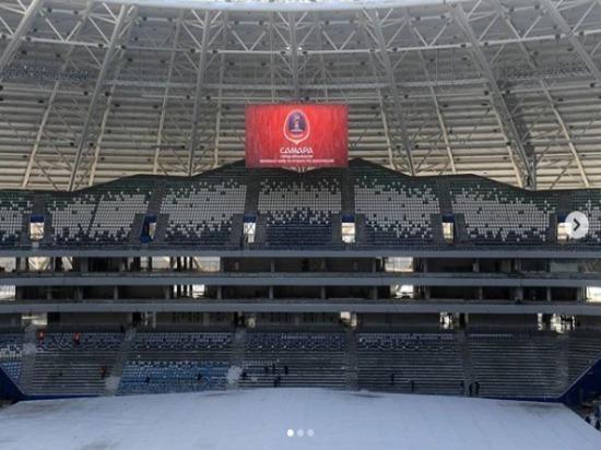 ФИФА: «Отставание пографику возведения стадиона вСамаре еще значительное»