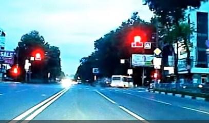 ДТП вСамаре: иностранная машина столкнулась савтобусом