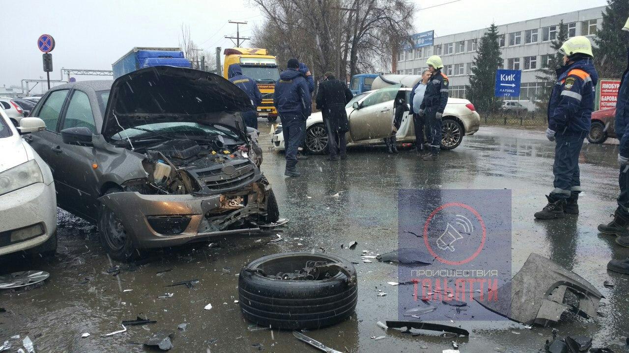 Секс в машине авария
